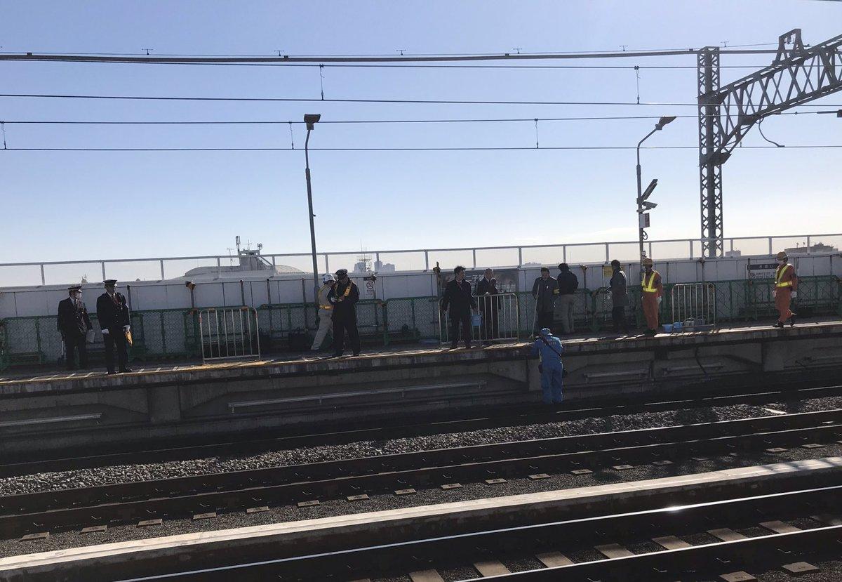 田園都市線の二子新地駅で高齢女性が死亡する人身事故が起きた現場画像