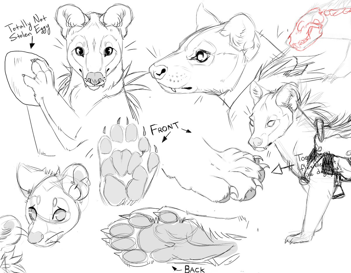 Some little creatures for somebody's secret project :0
