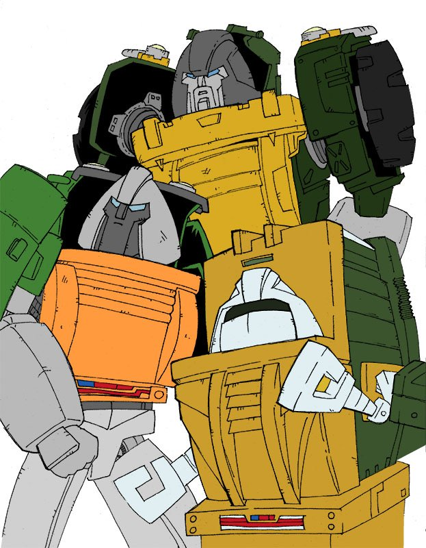 Flat colours for Brawn(s). #G1 #GenerationOne #Transformers #Autobots #Decepticons  #Brawn