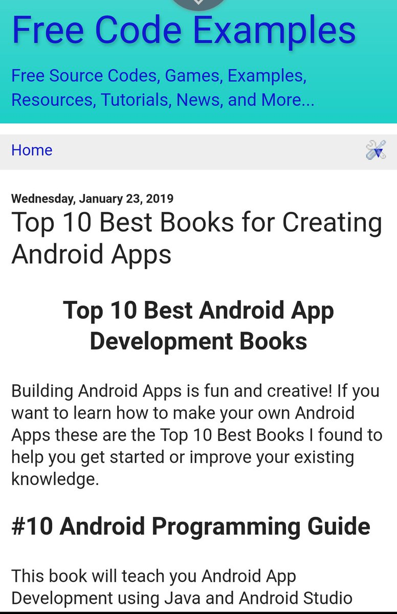 Free News App Source Code