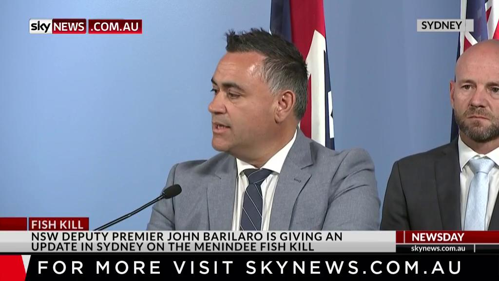 Image for the Tweet beginning: .@JohnBarilaroMP has acknowledged the 'tough