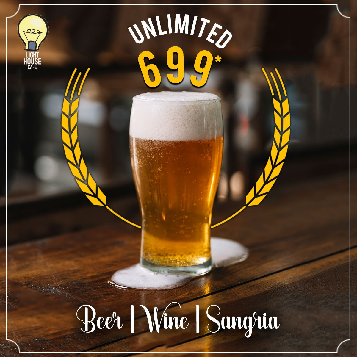Make your week more interesting with our Unlimited 699 Offer only at Light House Cafe Mumbai  #LHC #Worli #Mumbai #Zomato #Blogpost #bloggers #Weekday #CurlyTales #Weekends #Thingstodo #Mumbaifoodie #Foodgasm #mumbaifood #indianblogger #dailyfoodfeed #blogspot #Beer #BeerFest