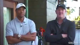 """We're buddies more than anything. He's the boss, and I work for him, but he doesn't treat me like that.""  @TigerWoods and Joe LaCava discuss their relationship, pro-am mishaps and the *one* thing Joe always forgets on the first tee – only on GOLFTV."