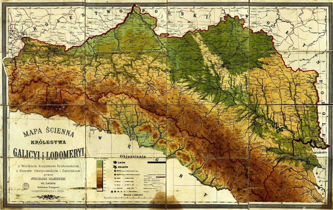 Southern Poland Map.Steven Seegel On Twitter Opensourcehistory For Cartophiles