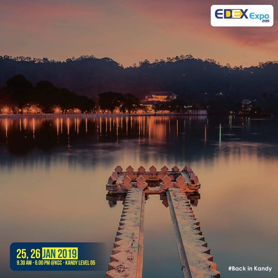 EDEX is back in KANDY. Visit us tomorrow & 26th at Kandy City Center.  Starting from 9.30 am  #EE2019 #BackinKandy #kandyevents #highereducation