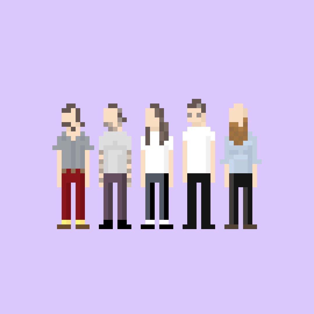 Minipop No. 1,386: Idles  #minipops #pixel #pixelart #idles