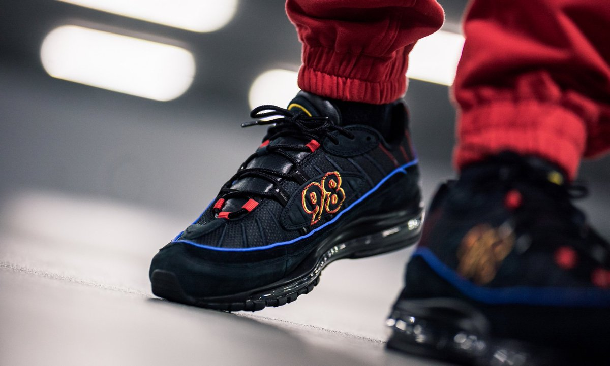 air max 98 black blue red