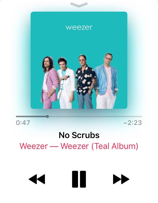 Weezer, The Teal Album, Release   Baaz