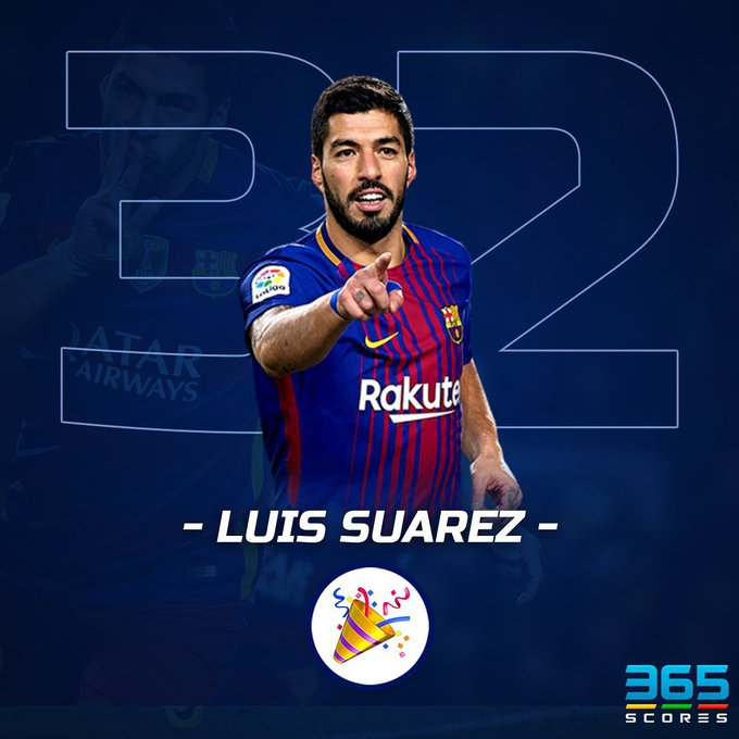 Happy 32nd birthday to forward Luis