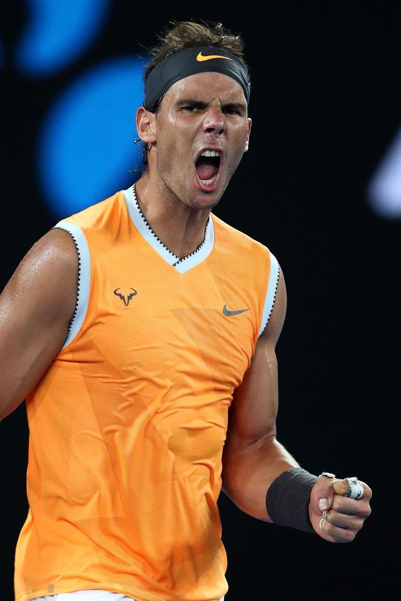 Rafael Nadal Fans On Twitter Photos Rafael Nadal Reaches Australian Open Final After Beating Stefanos Tsitsipas Https T Co Izwodvqiys