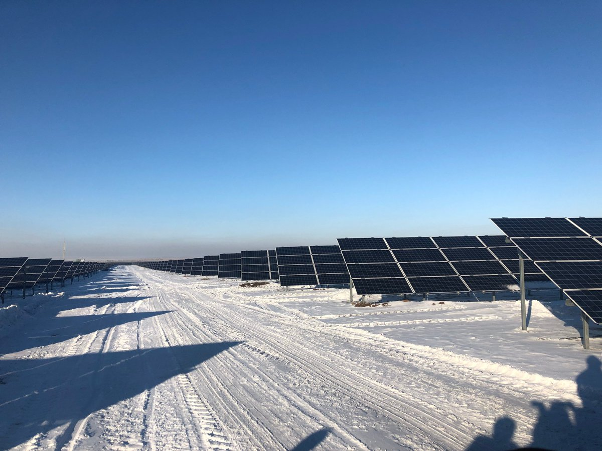 @EBRD & #GCF financed 100MW solar plant launched in #Karaganda region of #Kazakhstan. Project was developed #SESSaranLLP, owned by #JoachimGoldbeckHoldingGmbHpic.twitter.com/oOelMiDMkn
