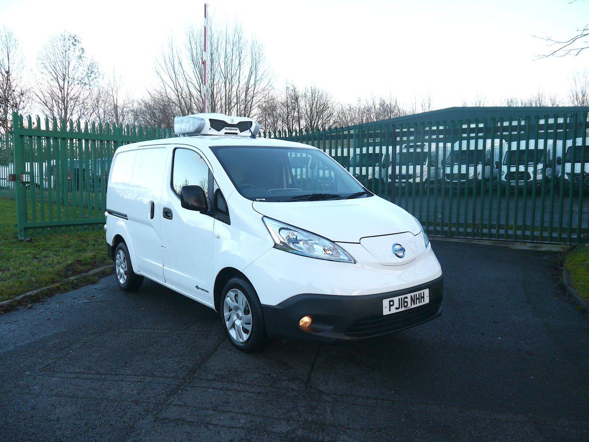 250kg Payload Learn More Https Www Coolkit Co Uk Fridge Vans Used Nissan E Nv200 Electric Refrigerated Van 2016 16 Acenta Pic Twitter