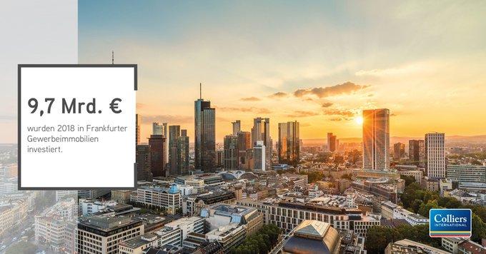 #Frankfurt ist der gefragteste #Investment-Markt für Gewerbe-#Immobilien in Deutschland. Allein im Bankenviertel wechselten 2018 zehn Bürotürme den Eigentümer.<br><br>Alle Infos:  t.co/mthvKhhLnH