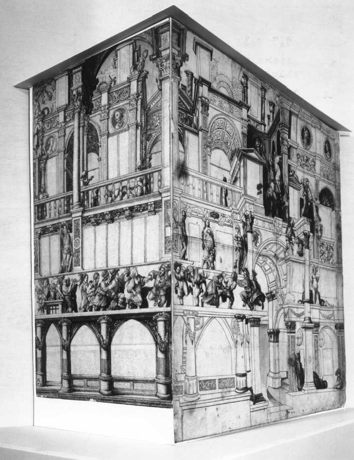 Model of the dance house in Basel #holbein #northernrenaissance https://t.co/w0cKudVSW0