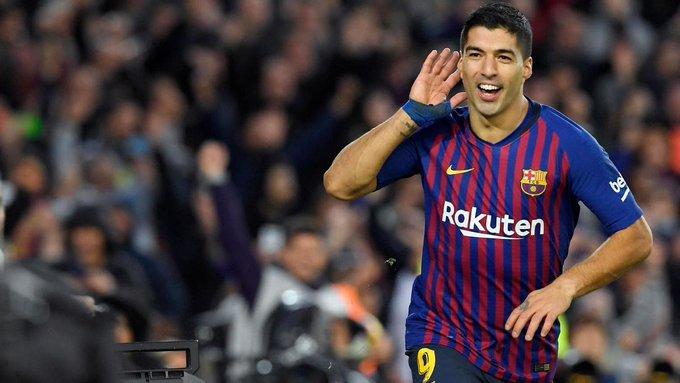 Happy 32nd birthday to Barcelona no.9 and Uruguay hero Luis Suarez