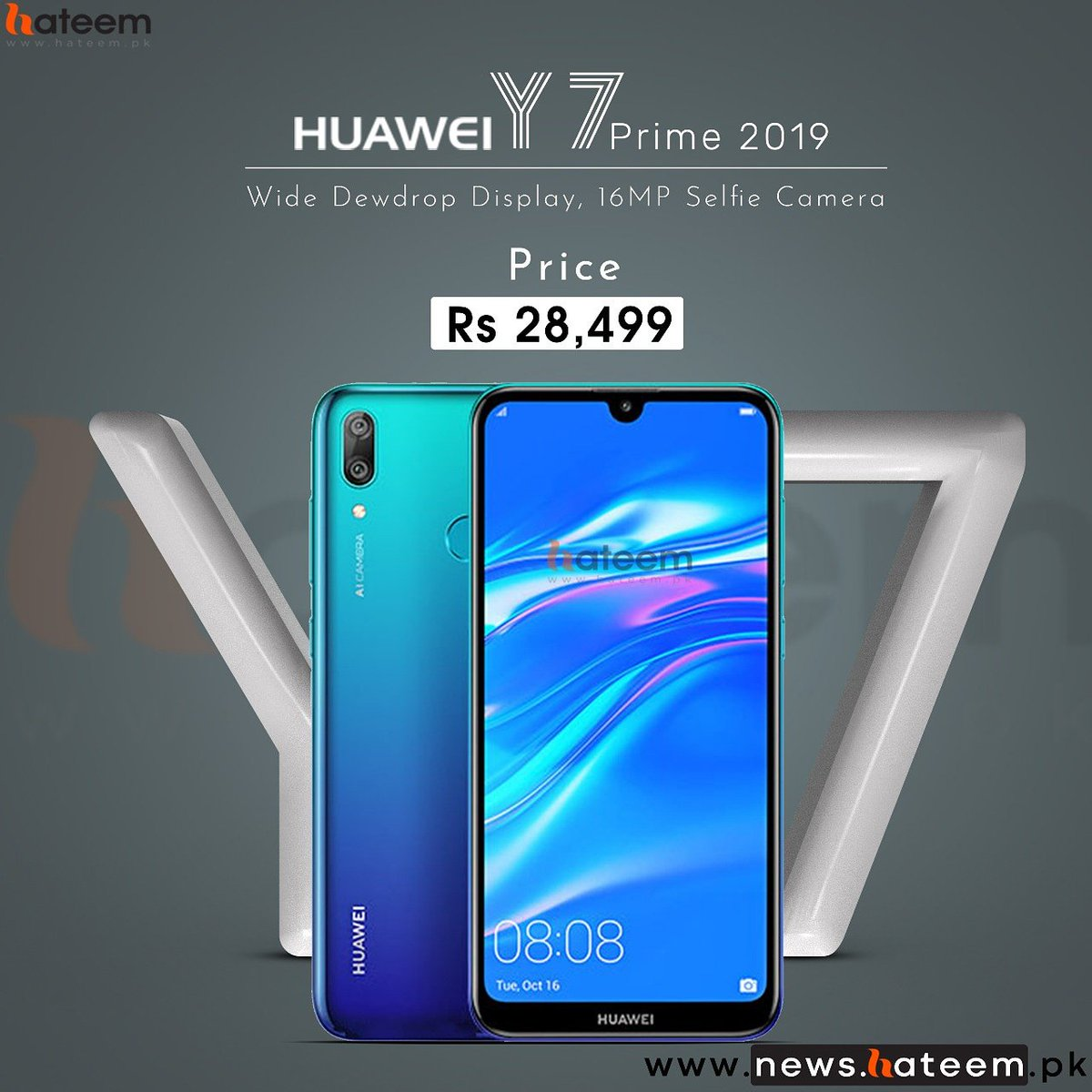 Huawei Y7 Prime 2019 Price Announced, Pro Orders Started