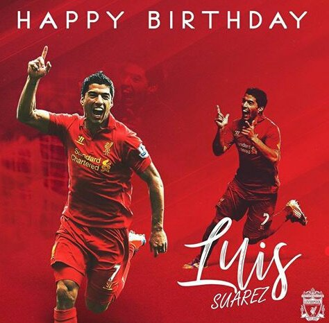 Happy Birthday to one of the most talented football players out there, Luis Alberto Suárez Diaz
