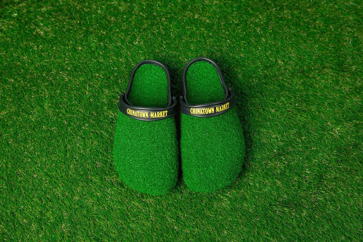 e698b5e2cc5 These grassy Chinatown Market x Crocs Clogs drop today at 11AM  https