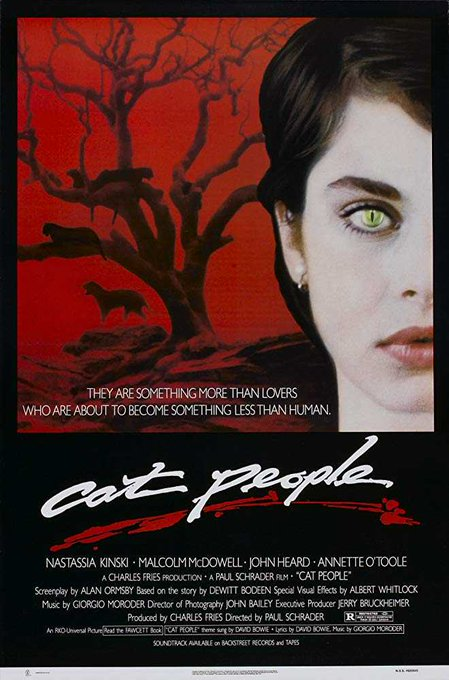 Happy 58th birthday to Nastassja Kinski, star of CAT PEOPLE (1982), which is streaming now on