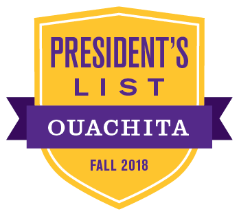Congratulations to the 340+ Ouachita students named to the President's List and 360 named to the Dean's List for fall 2018! President's List: https://obu.edu/news/2019/01/23/f18-presidents-list/ … Dean's List: https://obu.edu/news/2019/01/23/f18-deans-list/ …