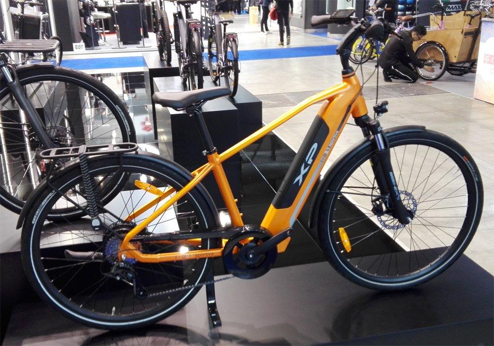 Una Bici Elettrica Del Marchio Xp Bikes Vista A Eicma 2018 Alla