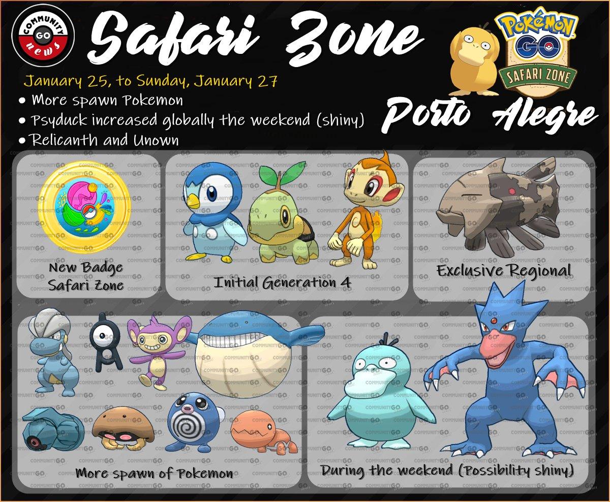 Qr code pokemon go safari | Survival Guide: Sentosa's