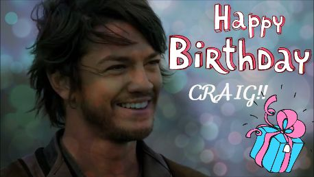 Wish you the best and all the joy you deserve! Happy Birthday Craig from your biggest fan in Europe