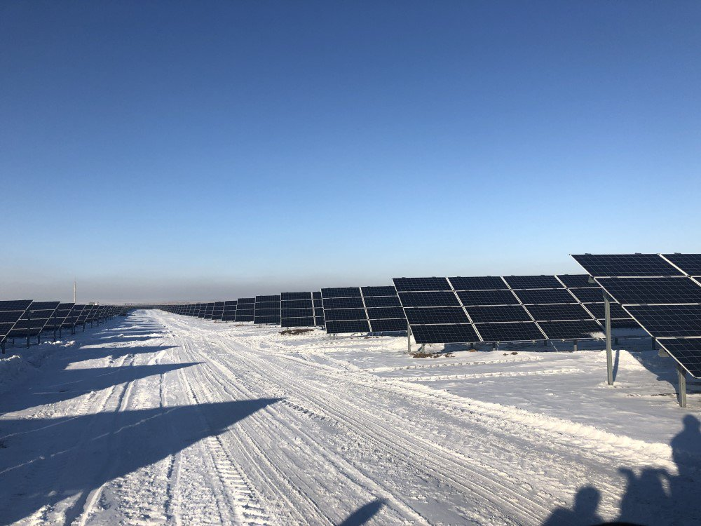 This is the new 100MW #solar plant  in the #Karaganda region of #Kazakhstan   We're very happy we've financed its construction together with @GCF_News.  #EBRDgreenpic.twitter.com/VDVwQQs0pg