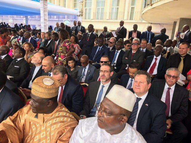 Jour historique pour la #RDC—une toute première passation de pouvoir pacifique et démocratique. Les États-Unis soutiennent le peuple congolais et travailleront avec le Président Tshisekedi et le nouveau gouvernement pour un avenir pacifique et plus prospère.