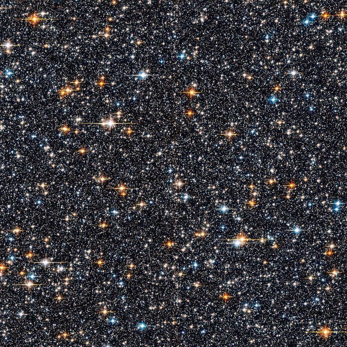 hubble galaxy field - HD 1200×1200