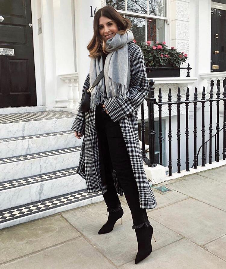 wear checks with our Barbican boots