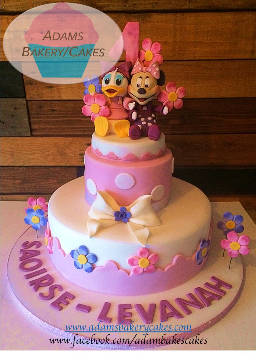 Miraculous Adams Bakery Cakes Pa Twitter 2 Tier Daisy And Minnie Cake Personalised Birthday Cards Vishlily Jamesorg