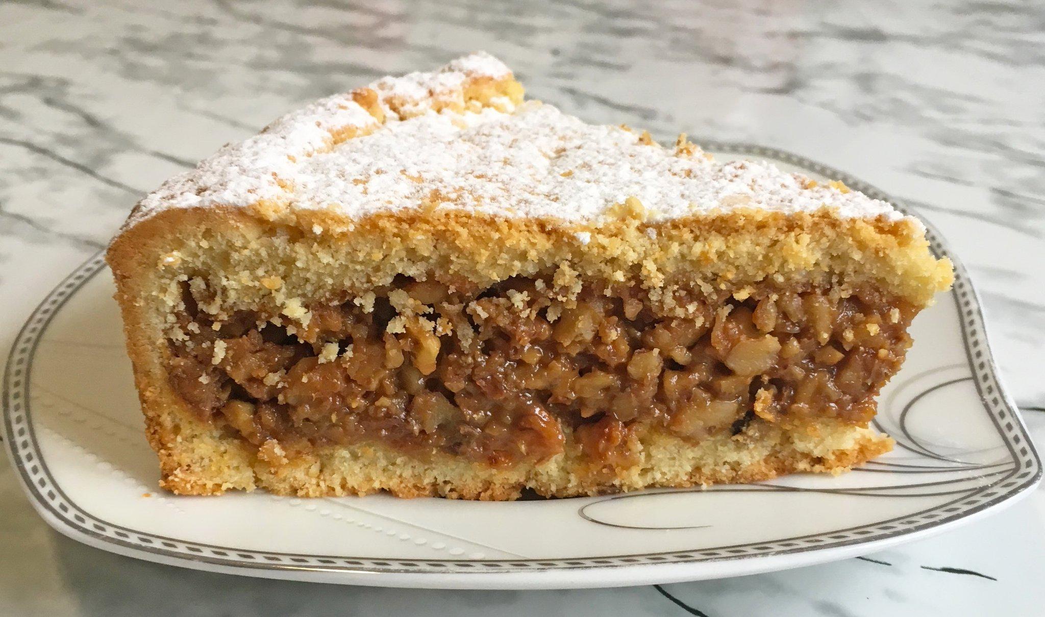 ореховый пирог рецепт с фото пошагово для