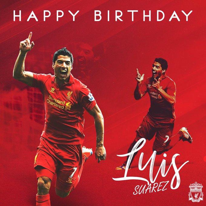 Happy birthday Luis Alberto Suarez Diaz Magical