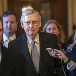 Image for the Tweet beginning: Sen. Mitch McConnell announces bill