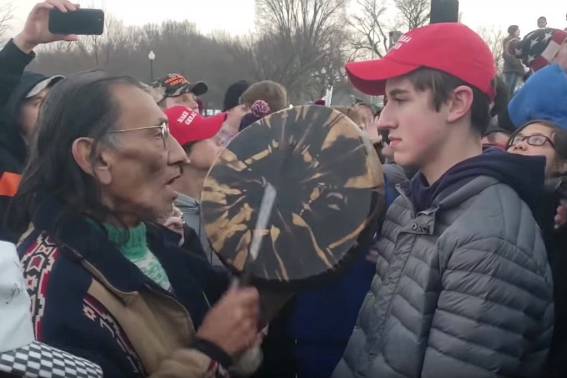 Native American activist Nathan Phillips has a criminal record https://nyp.st/2Dw1sVZ