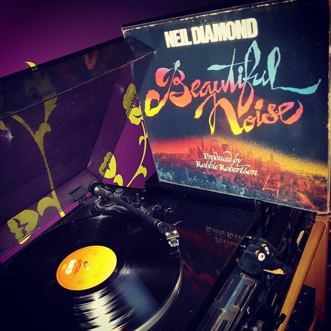 Happy Birthday Neil Diamond *78* ! Beautiful Noise (produced by Robbie Robertson) (CBS/1976)