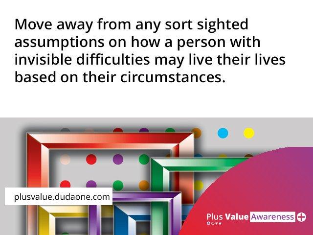 Plus Value Awareness on Twitter: