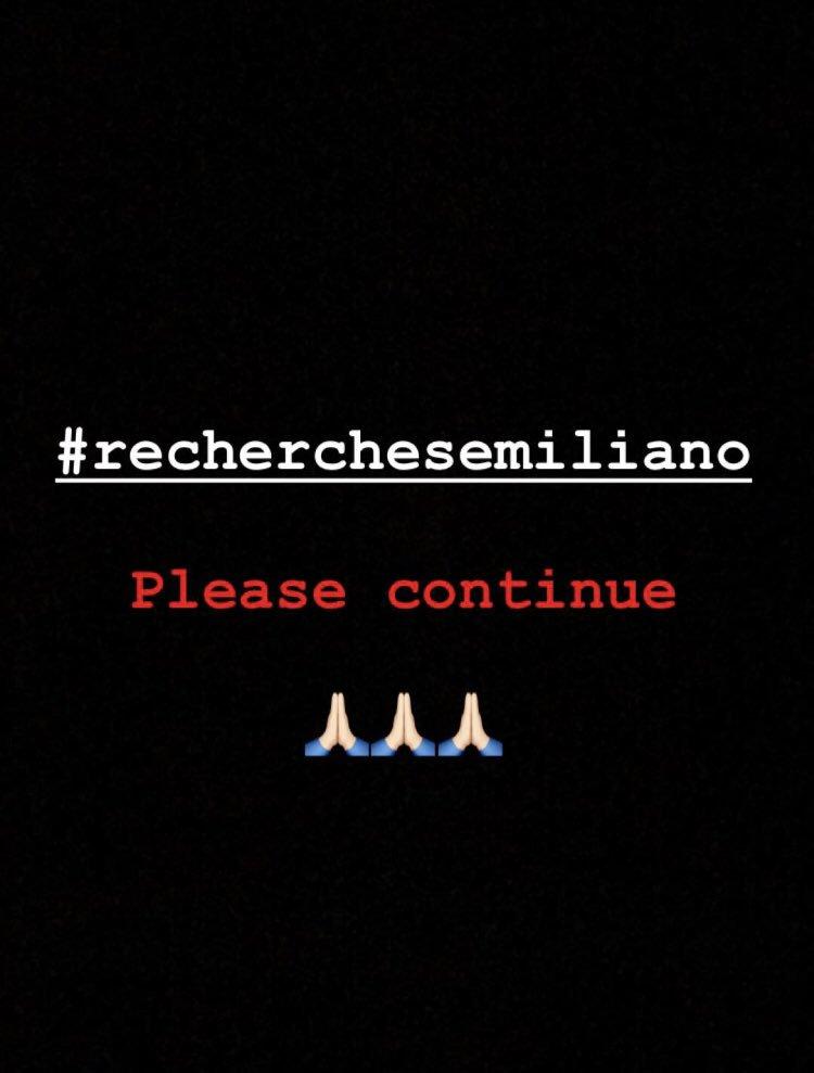 Unissons nous tous ensemble pour que les recherches concernant la disparition d'Emiliano Sala reprennent, pour lui et pour sa famille #PrayForSala https://t.co/8lekr0oRBJ