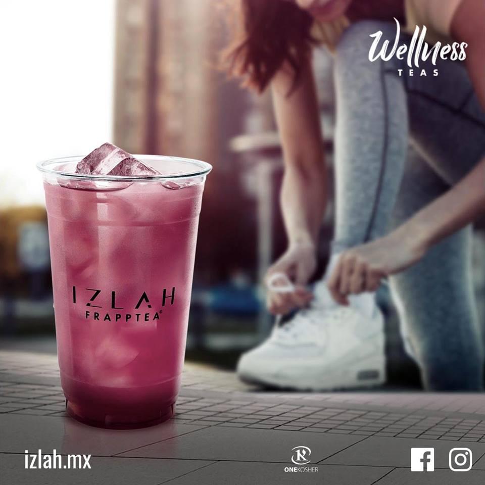 ¿Ya conoces #IZLAH? Descubre su colección #wellness y llénate de energía para cumplir tus objetivos. 💪🏻