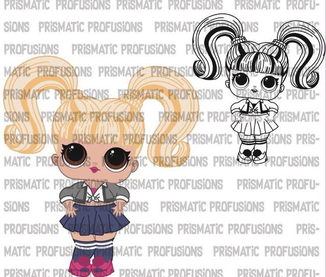 Oops Baby LOL Doll Fan Art! #PrismaticProfusions #lol #lolsurprise