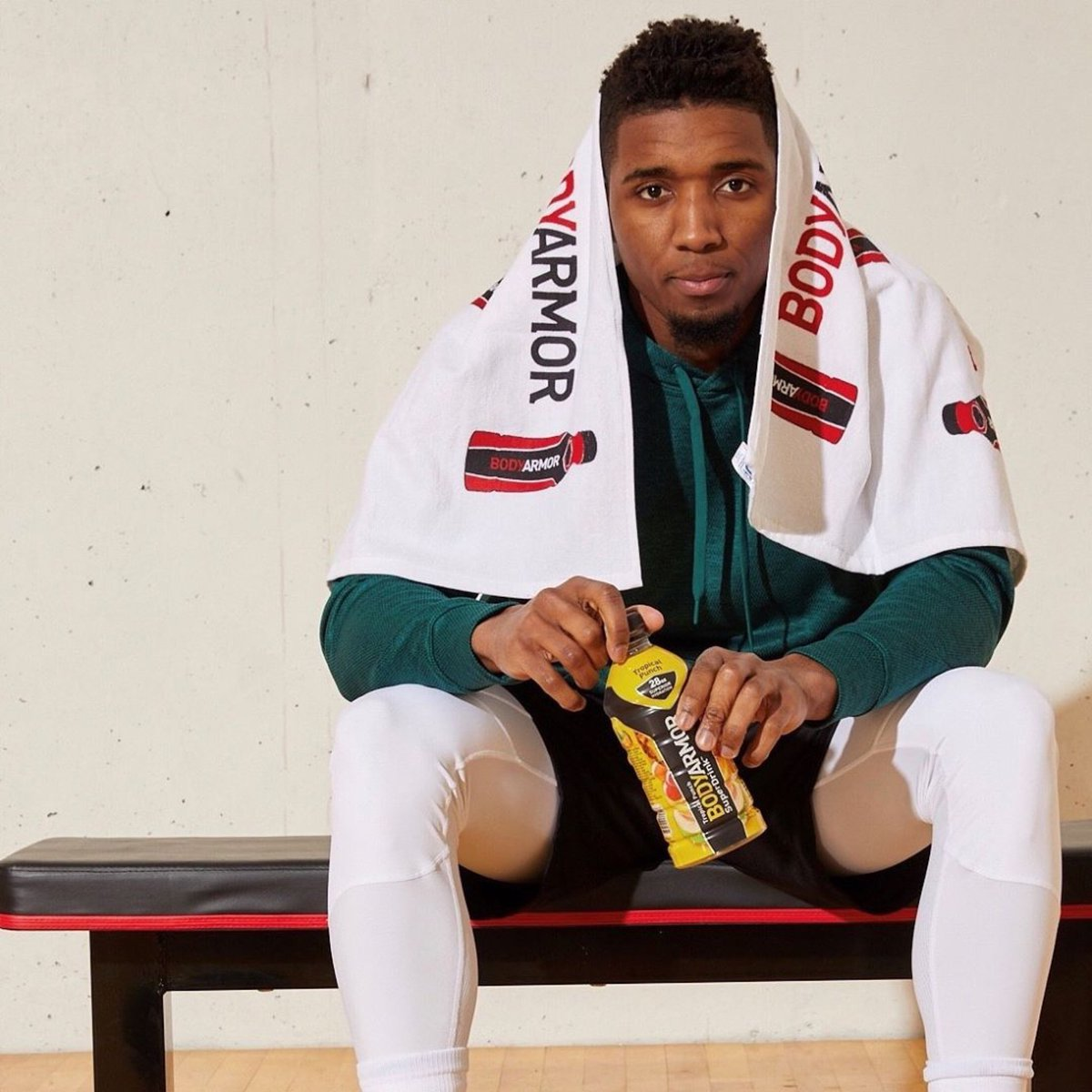 The movement continues.....Welcome @spidadmitchell to the @DrinkBODYARMOR fam! #schwwaaaag