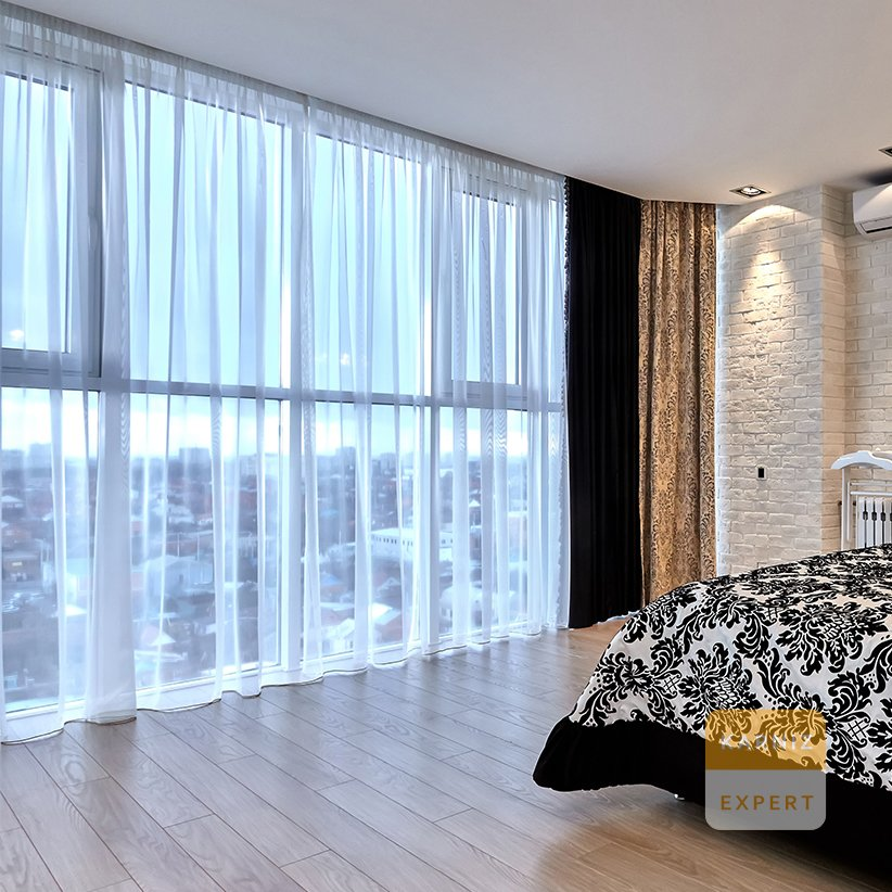 места для тюли на витражные окна фото коррекции объема