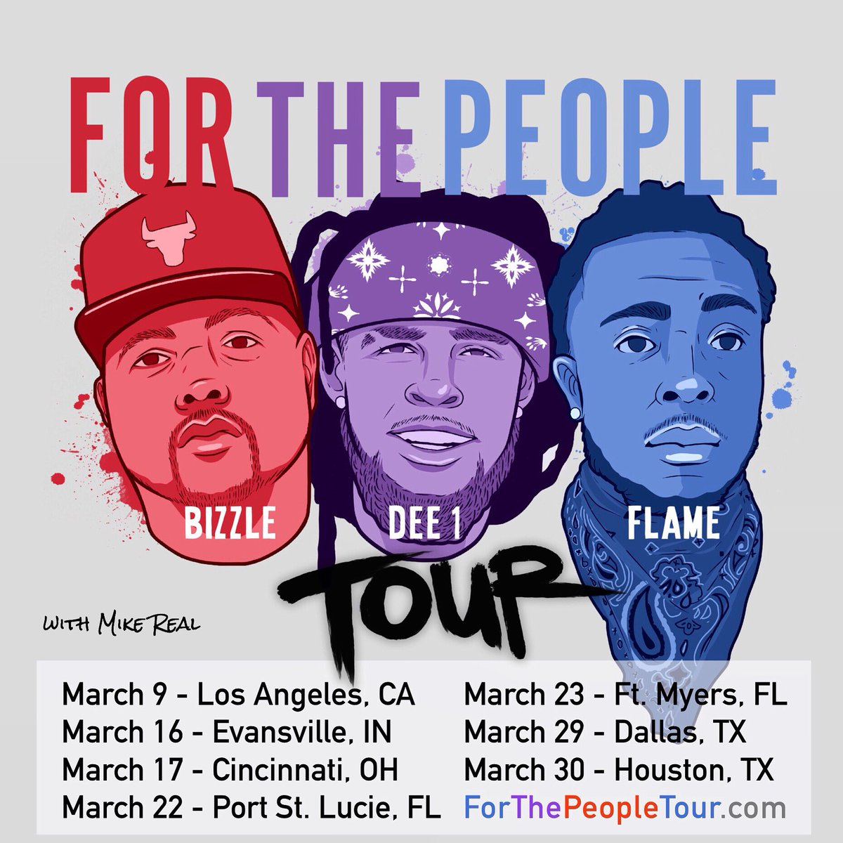 Coming to a city near you!  No Gimmicks! No Tricks! No Politics! Bringing the truth straight to the people! http://ForThePeopleTour.com