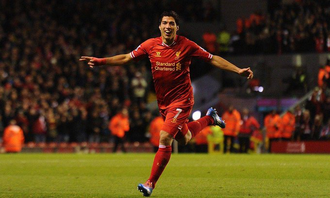 Happy Birthday to the Greatest no. 9 of this generation, Luis Suarez.