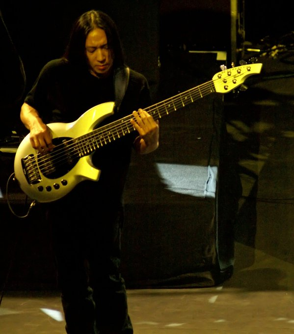 Happy 52nd Birthday John Myung   . Your Bass licks make me fall into the light