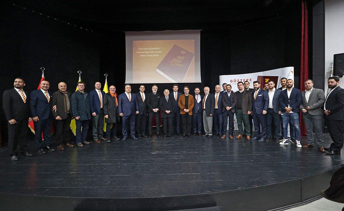 92 Yıllık Çınar - Göztepe Futbol Almanağı Lansmanı Gerçekleşti gozte.pe/2WiCtMW #Göztepe