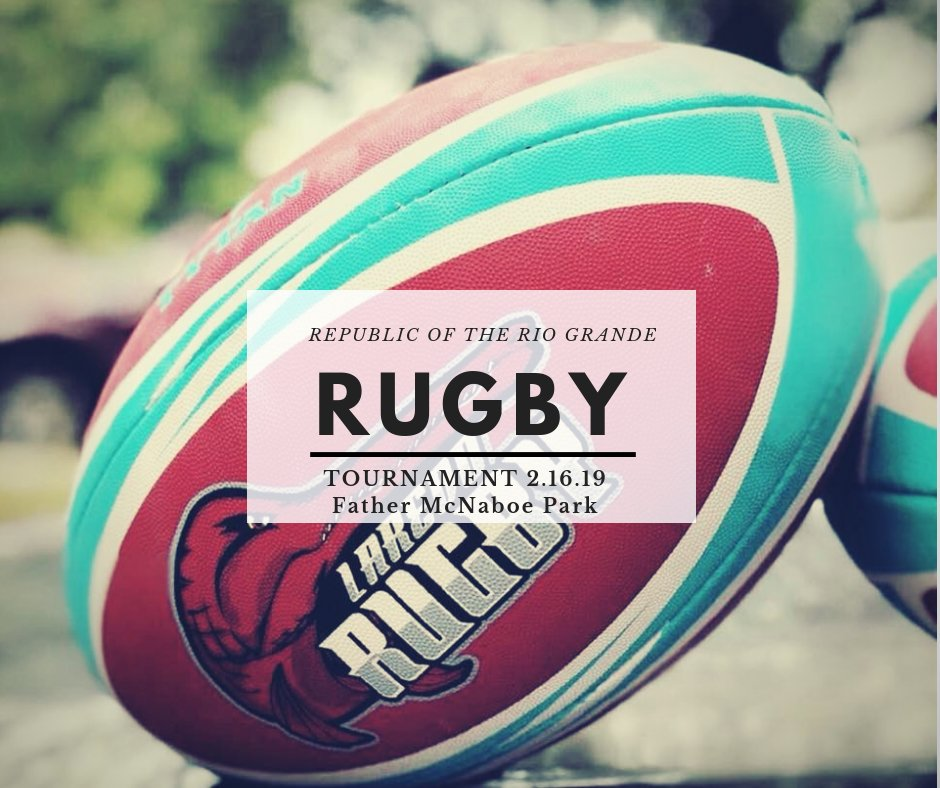 What's GOOD LAREDO!  Show love and support to your ONLY Youth Rugby Club by coming by taking pictures with the players and staff at Sames Auto Arena 7pm.  Winner with the most shares and likes will win Rugby Memorabilia's.  #Laredo, #WBCA, #Laredorugby, #RioGrandeRugbyTournament