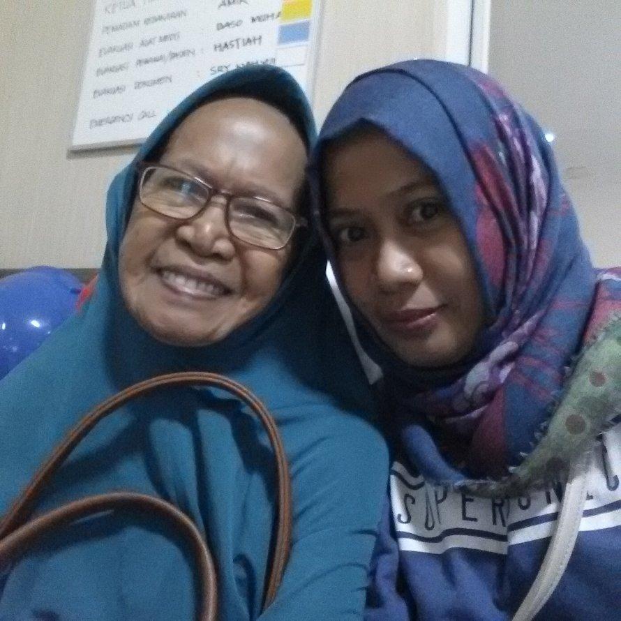 Me & My Lovely Love Aunty ☺😊😄😉😇😍