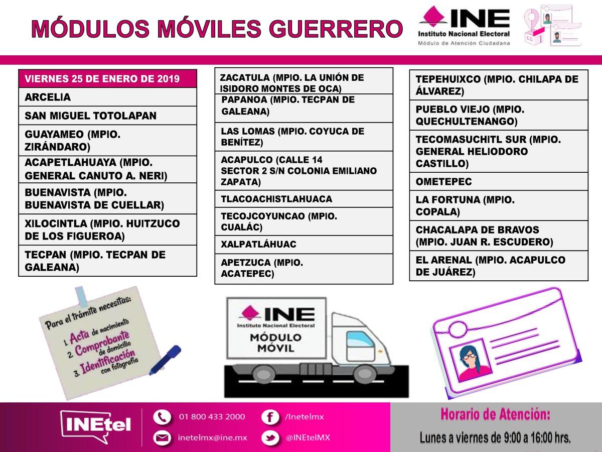 Ine Guerrero On Twitter El Ine Te Informa El Recorrido De
